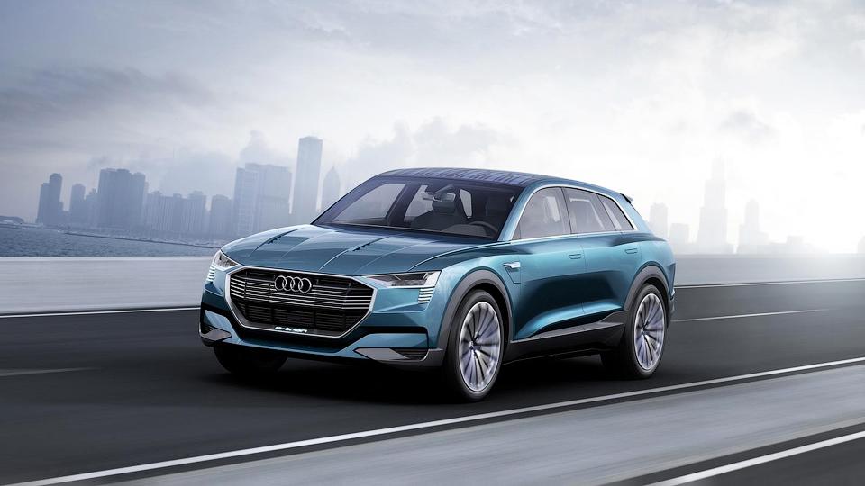 Audi привезла во Франкфурт предвестника конкурента Tesla Model X