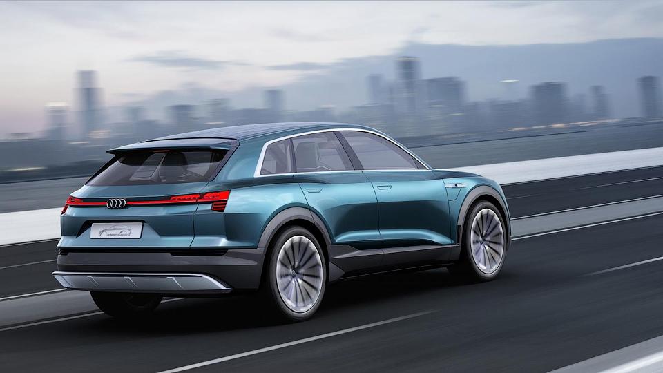 Электрокроссовер Audi сможет набирать «сотню» за 4,6 секунды . Фото 1