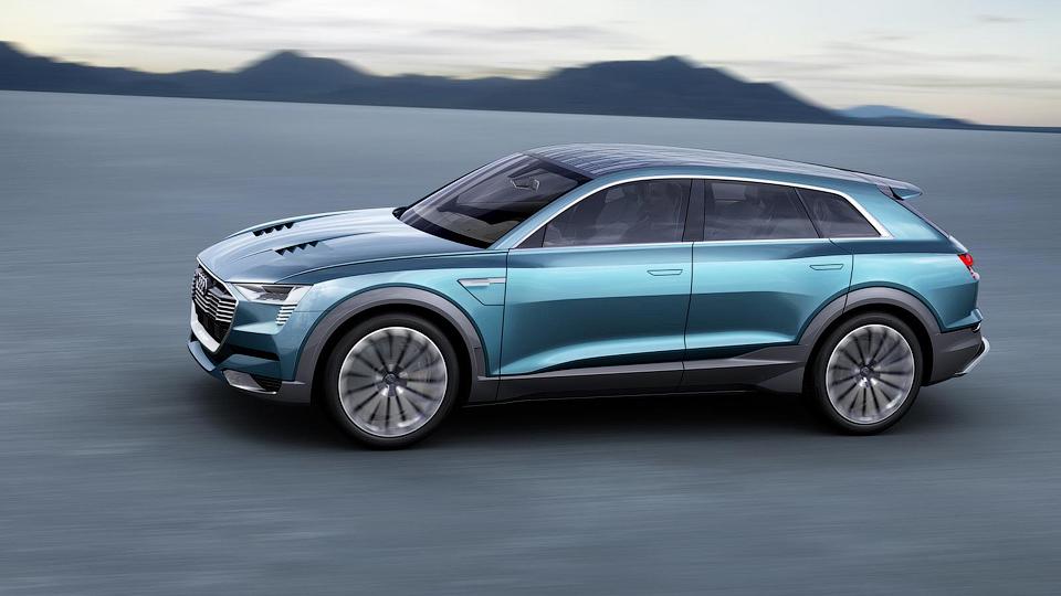 Электрокроссовер Audi сможет набирать «сотню» за 4,6 секунды . Фото 2