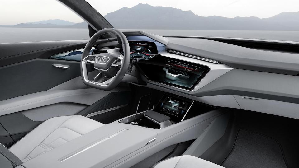 Электрокроссовер Audi сможет набирать «сотню» за 4,6 секунды . Фото 4