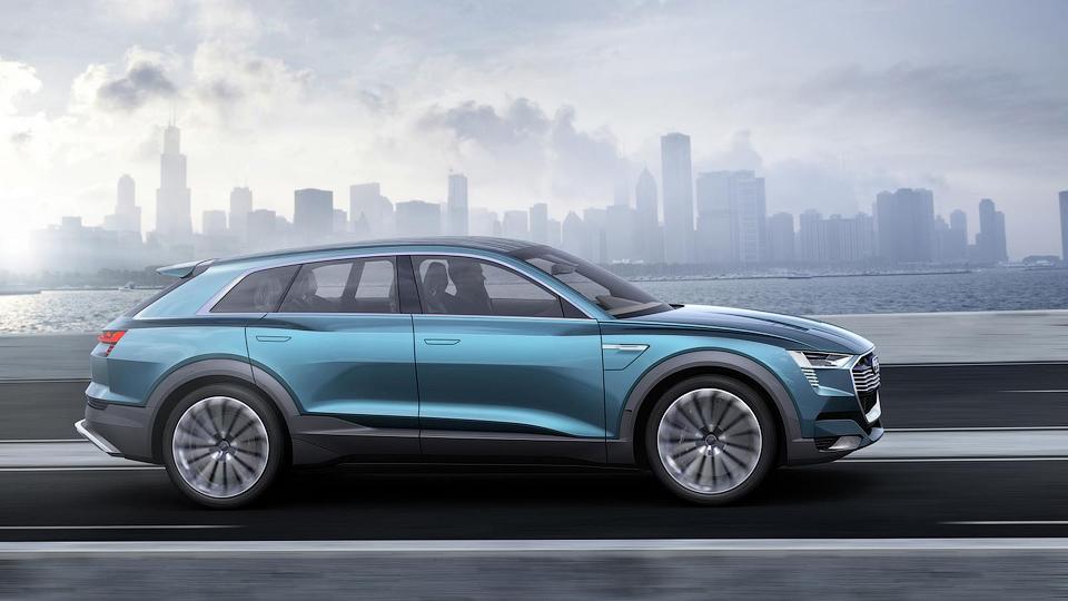 Электрокроссовер Audi сможет набирать «сотню» за 4,6 секунды . Фото 3