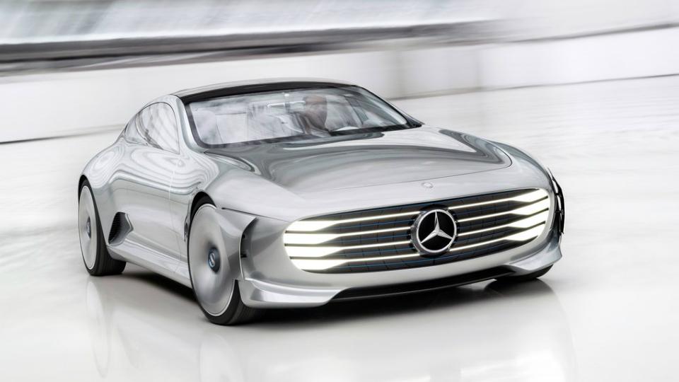 Mercedes-Benz выпустил «аэродинамического чемпиона»