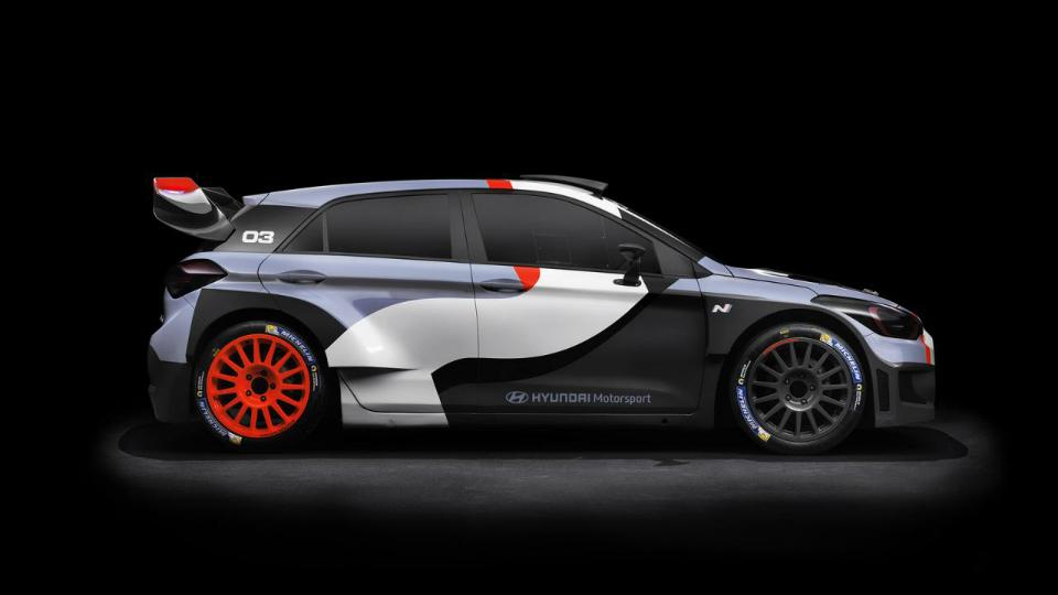 Машину для WRC построили на базе хэтчбека i20 второго поколения