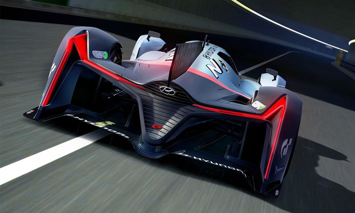 Корейская марка придумала машину в стиле прототипов «Ле-Мана». Фото 1