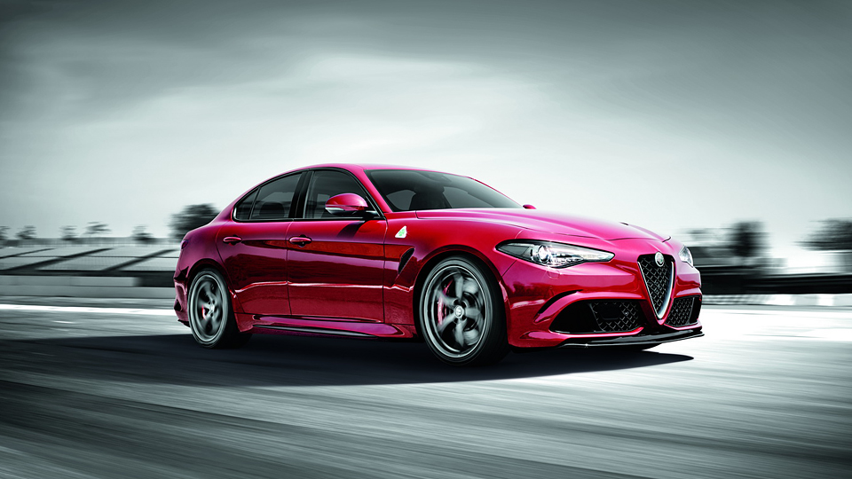 Alfa Romeo Giulia проехала Нюрбургринг быстрее BMW M5