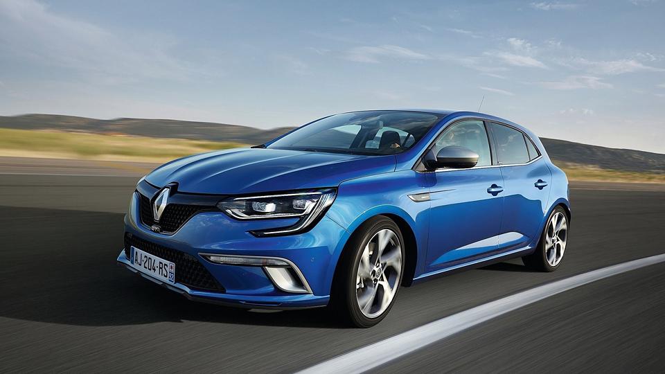 Renault Megane впервые получил полноуправляемое шасси