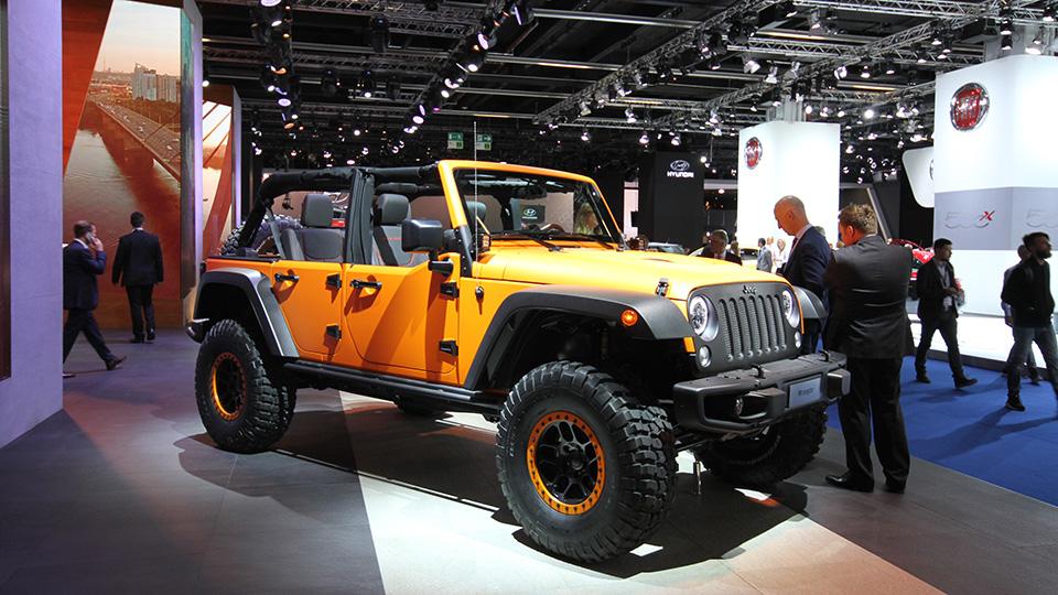 Jeep и Mopar подготовили ко Франкфурту три особых внедорожника