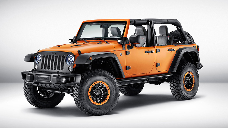 Тюнер Jeep сделал спецверсии Cherokee, Wrangler и Renegade