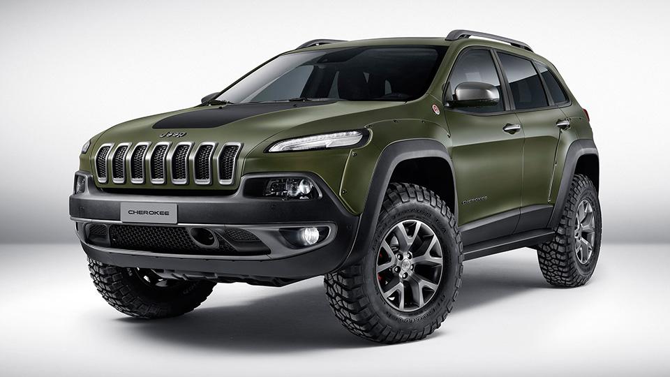 Тюнер Jeep сделал спецверсии Cherokee, Wrangler и Renegade. Фото 2