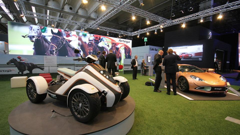 Немецкая компания разработала спорткупе и квадроцикл . Фото 3