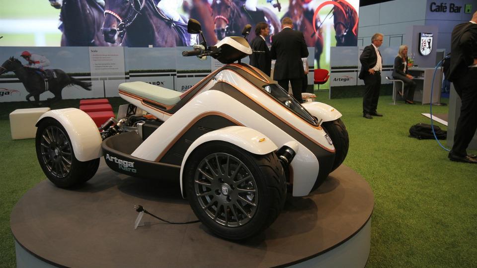 Немецкая компания разработала спорткупе и квадроцикл . Фото 2
