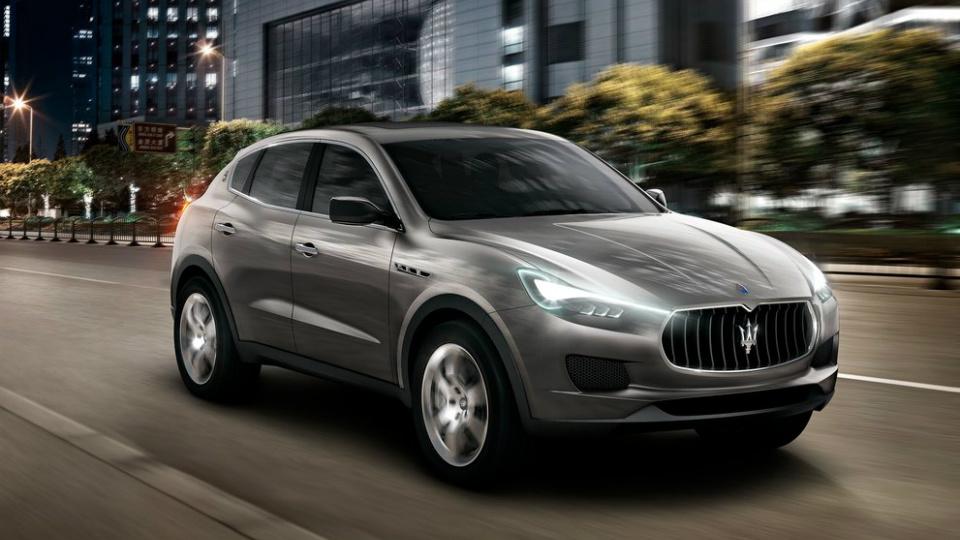 Глава Maserati назвал дату дебюта серийного внедорожника