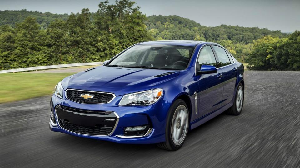 Компания Chevrolet добавила агрессии «горячему» седану SS