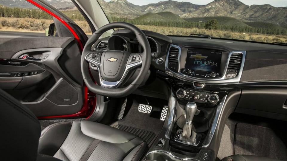 Chevrolet SS получил модернизированную выпускную систему. Фото 1