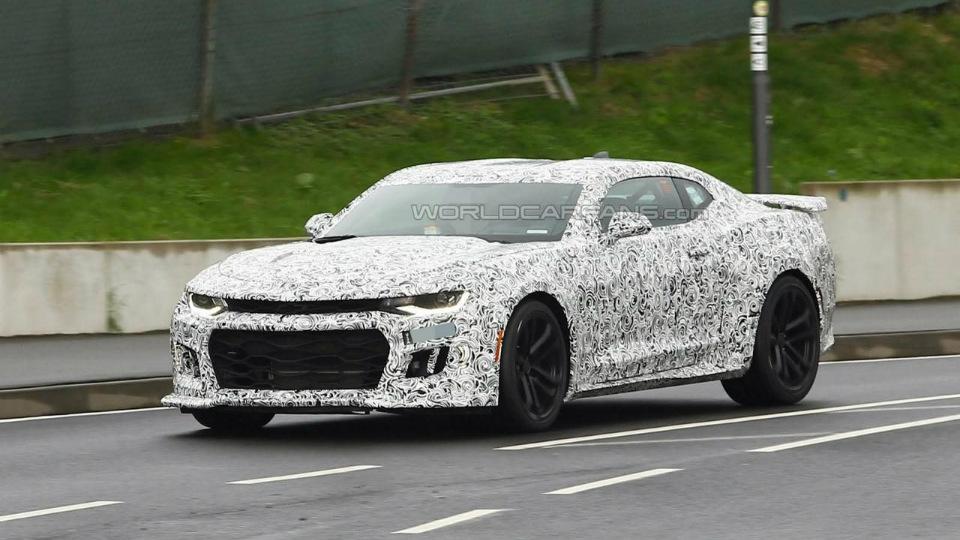 Самый мощный Chevrolet Camaro вывели на Нюрбургринг