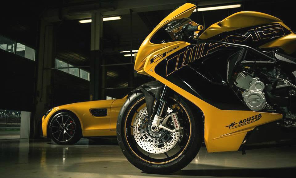 MV Agusta и AMG представили спортбайк на Франкфуртском автосалоне - Agusta