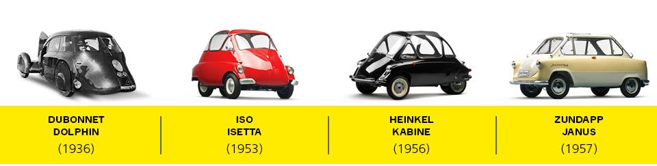 Самые маленькие BMW из прошлого и будущего. Фото 5