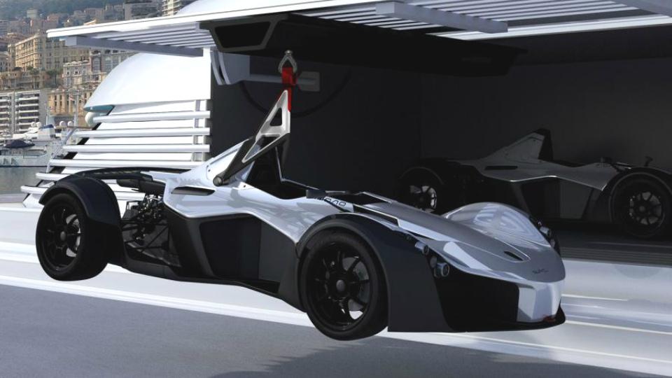 Компания BAC выпустила «морскую» версию спорткара Mono
