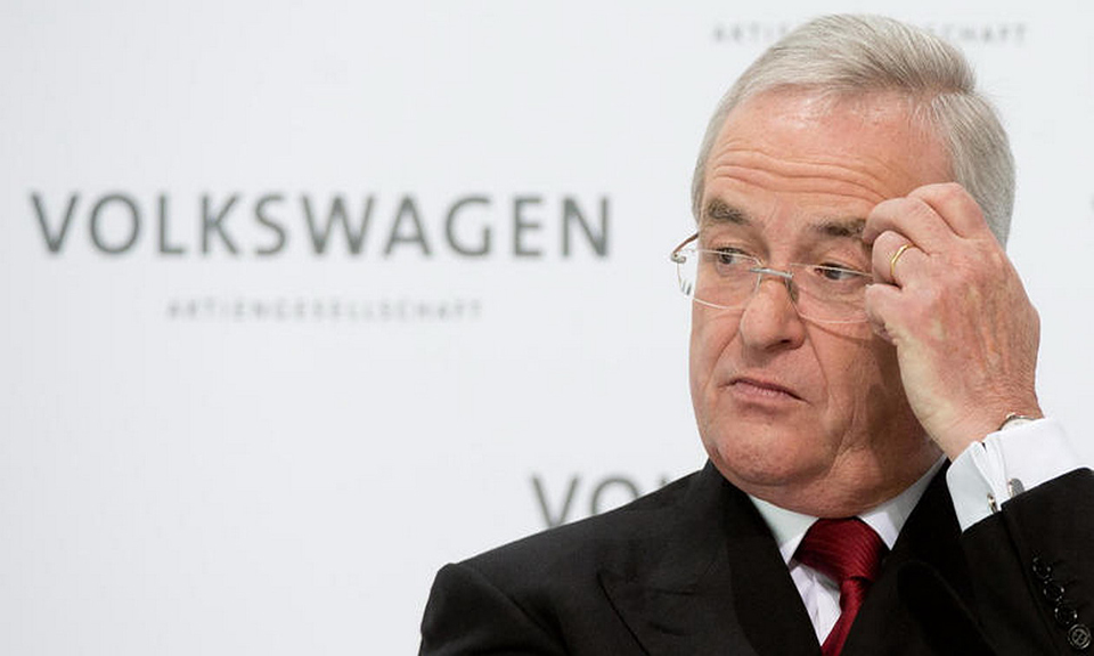 Немецкие СМИ сообщили о возможной отставке главы Volkswagen