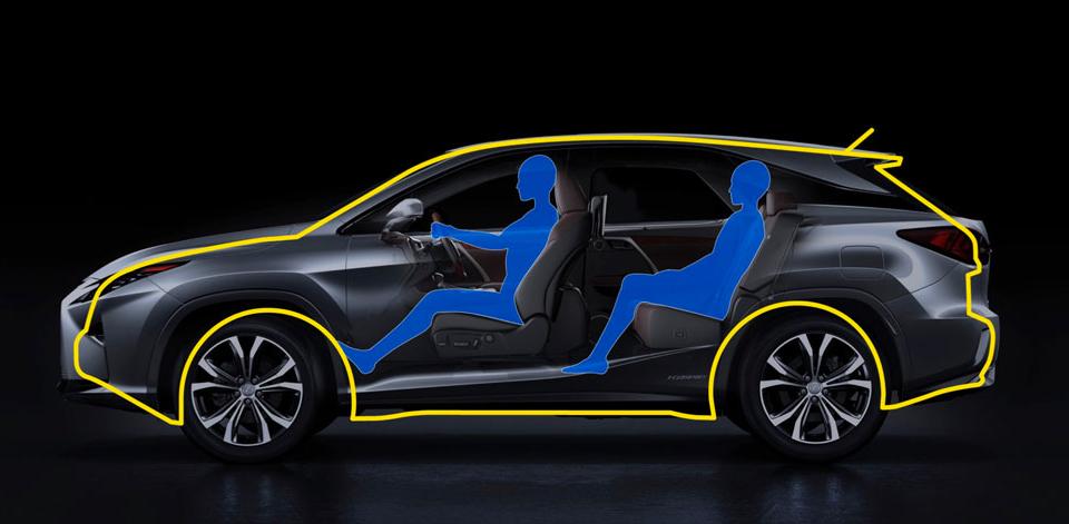 Стас Михайлов или Рената Литвинова — какая душа живет внутри нового Lexus RX?. Фото 2