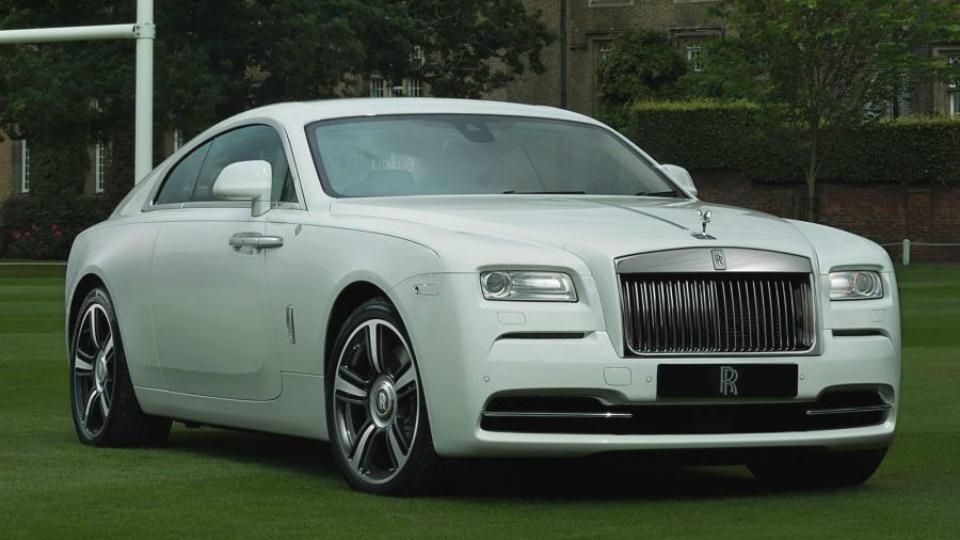 Rolls-Royce посвятил  спецверсию купе Wraith регби