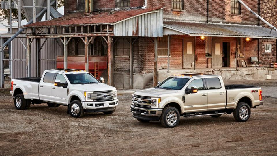 «Форд» представил семейство F-Series Super Duty нового поколения. Фото 2