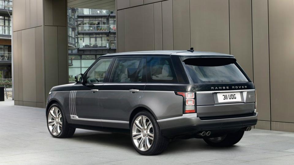 Заводское ателье SVO подготовит самую роскошную версию Range Rover
