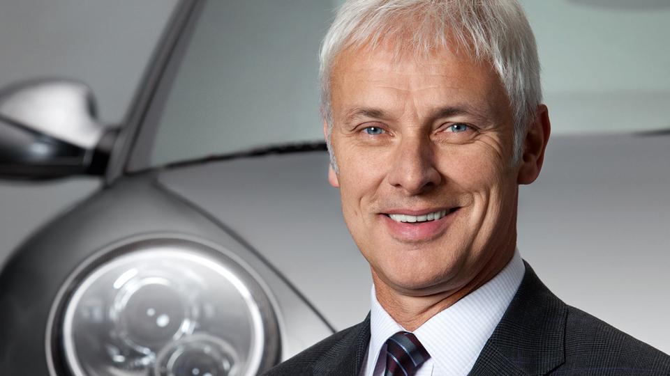 Гендиректором Volkswagen стал глава Porsche
