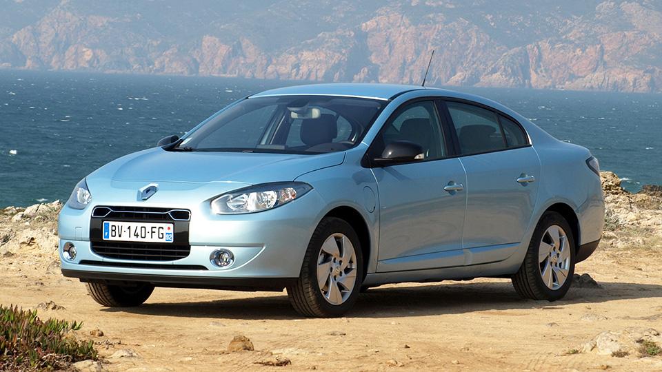 Renault превратит Fluence Z.E. в электрокар для китайцев