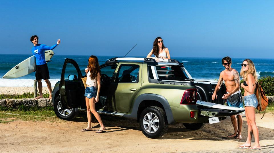 Продажи Renault Duster Oroch стартовали в Бразилии