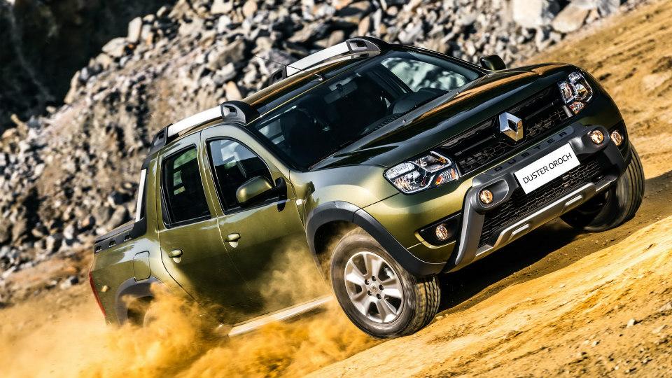 Продажи Renault Duster Oroch стартовали в Бразилии. Фото 1