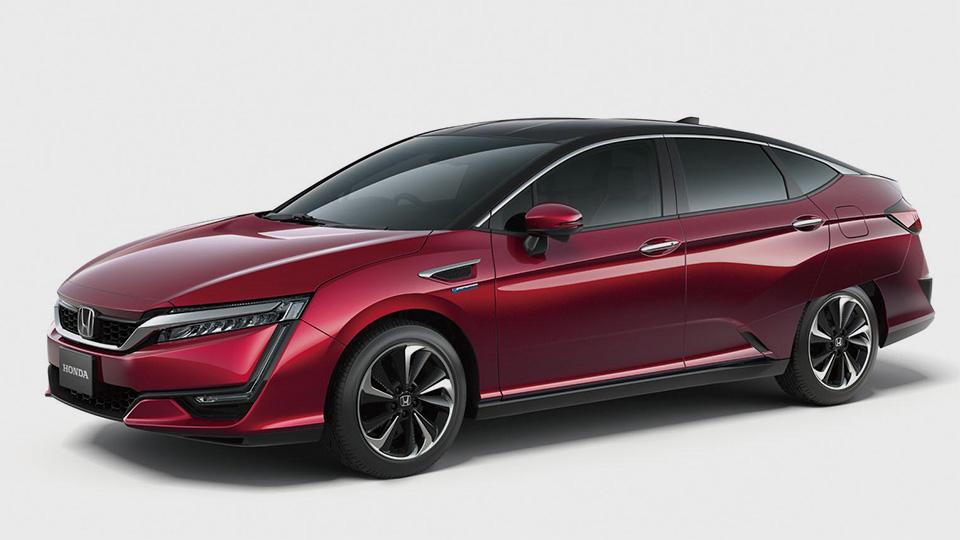 Honda показала дизайн новой водородной модели