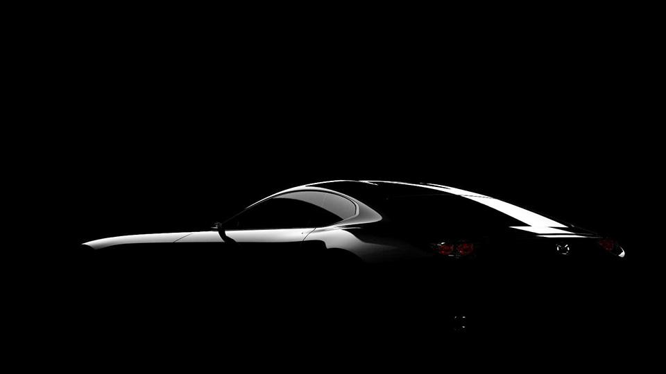 Mazda раскрыла профиль концептуального спорткара