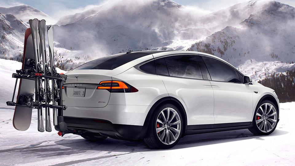 Кроссовер Tesla Model X представлен официально