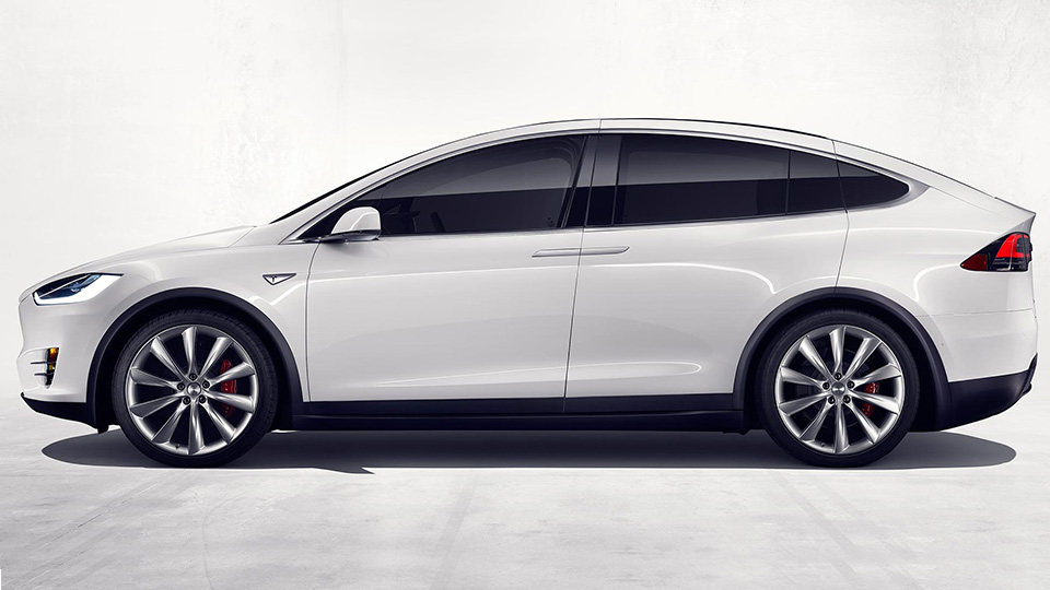 Кроссовер Tesla Model X представлен официально. Фото 1