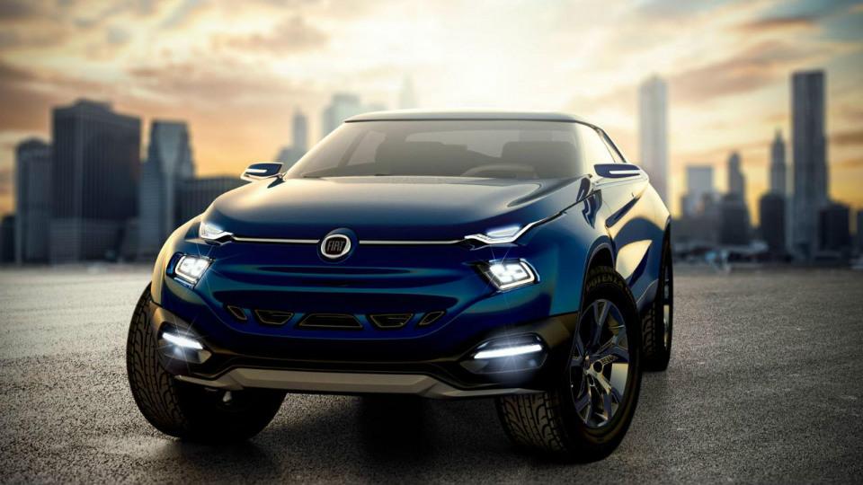 Продажи модели Fiat Toro начнутся в Южной Америке в 2016 году