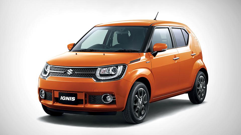 Suzuki возродит модель Ignis в виде мини-кроссовера