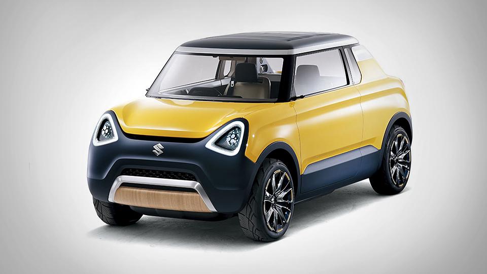 Компания Suzuki построила очень маленький пикап и минивэн