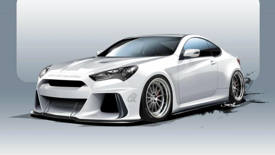 Hyundai привезет на шоу SEMA потенциального конкурента BMW M4