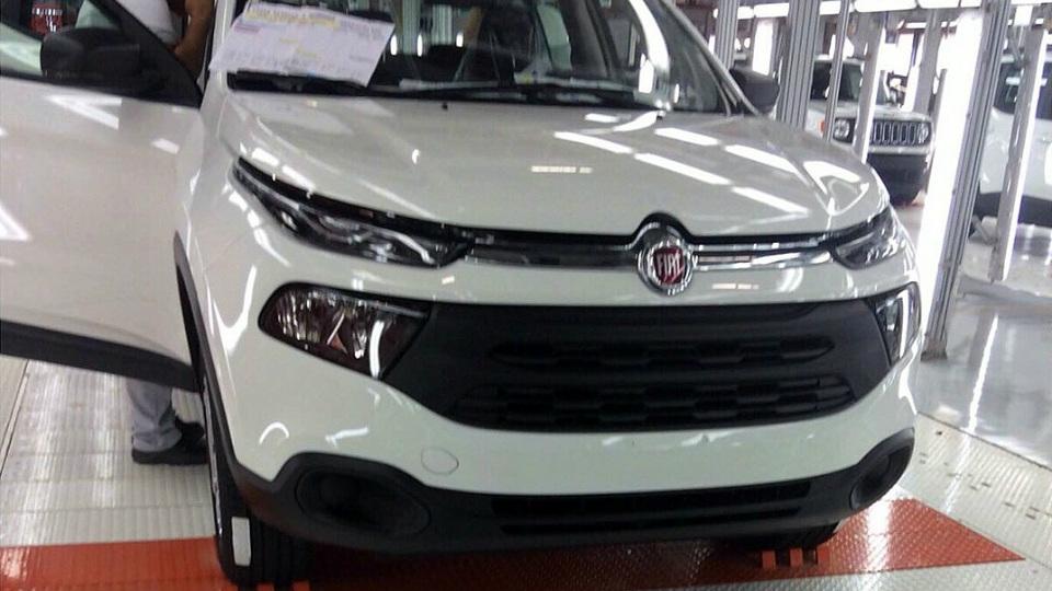 Fiat построил пикап на базе «Джипа»