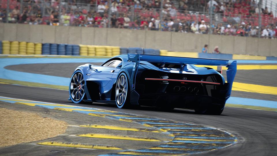 Bugatti Chiron сделают похожим на прототип для гоночного симулятора