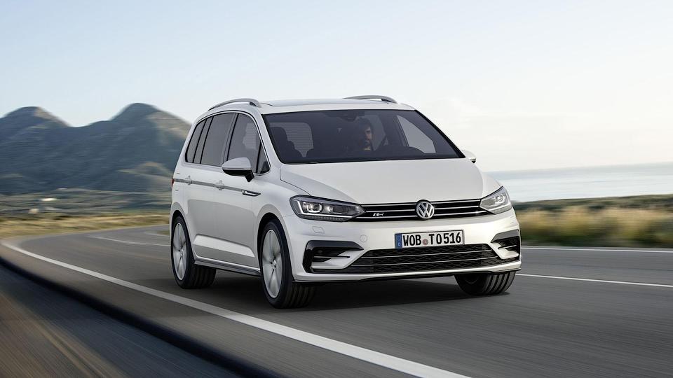 Volkswagen добавил новому «Турану» спорт-пакет R-Line