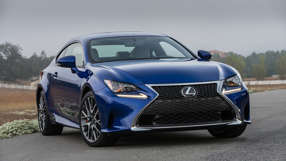 Купе Lexus RC оснастили «турбочетверкой»