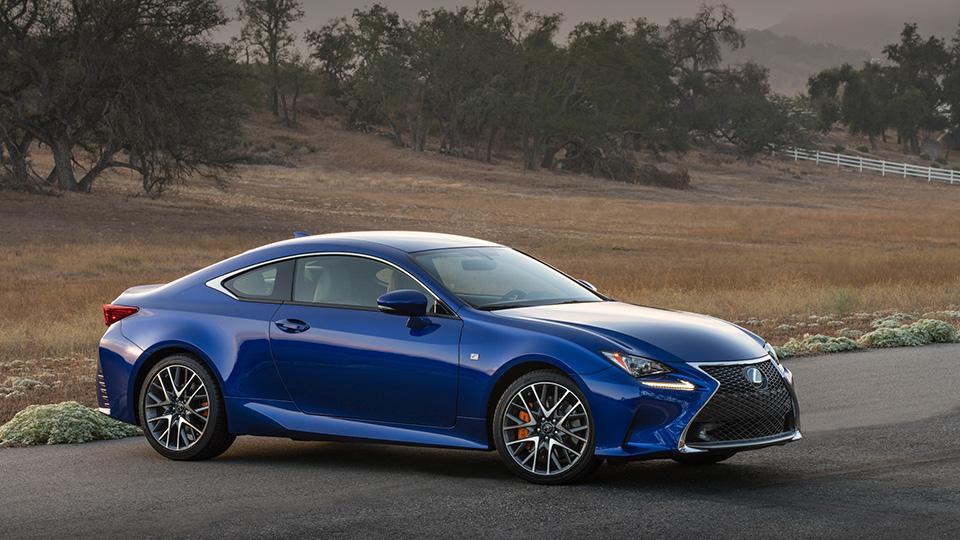 У Lexus RC появились две новые модификации