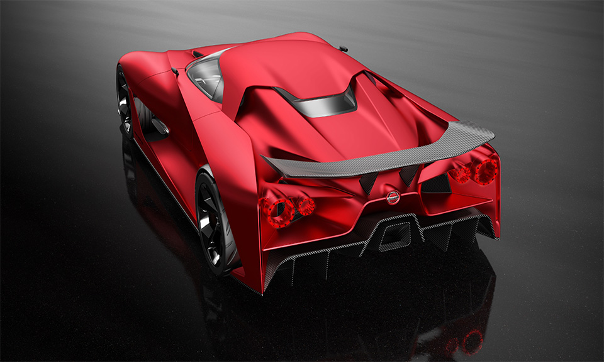 Японцы изменили прототип Concept 2020 Vision Gran Turismo