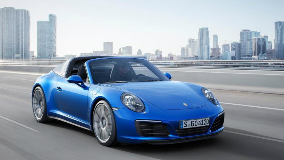 Porsche 911 Targa получила турбомотор