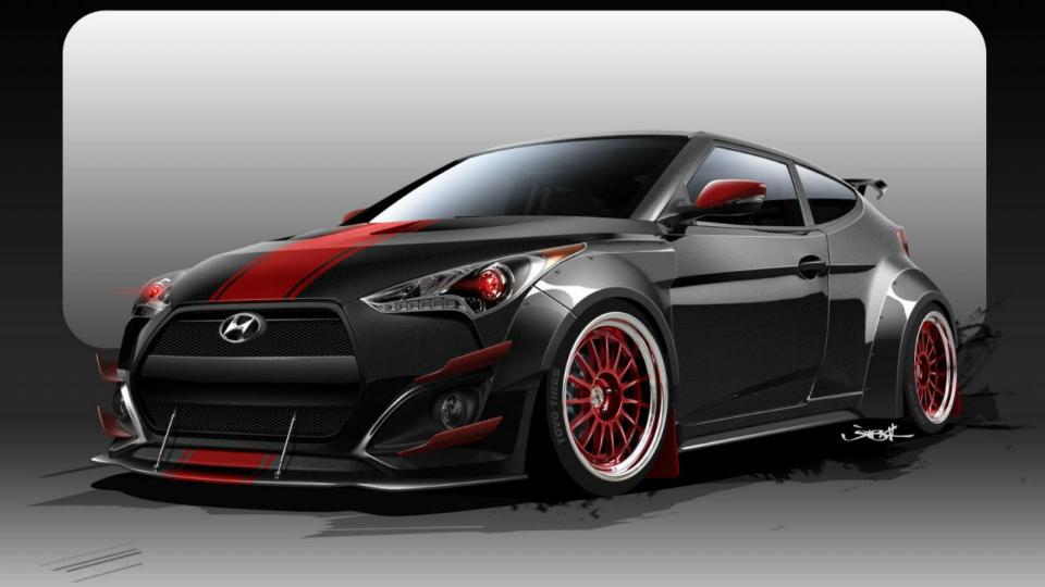 Hyundai выпустит Veloster с «дьявольскими глазами»