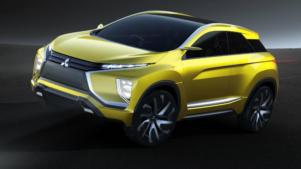 Mitsubishi привезет в Токио прототип электрического кроссовера