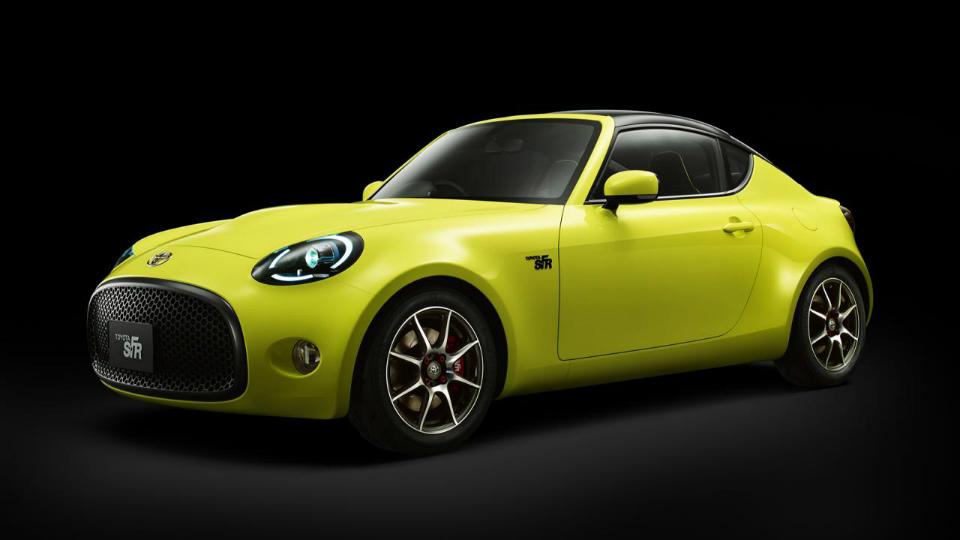 Toyota показала предвестника маленького спорткара