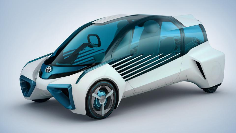 Водородные «Тойоты» превратятся в мобильные источники энергии